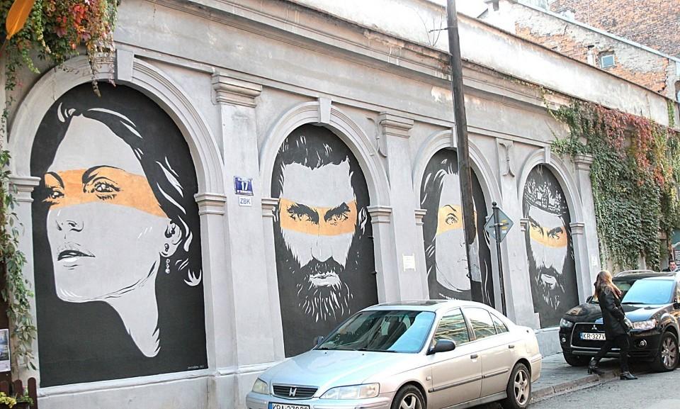Street art, czyli alternatywny spacer uliczkami Krakowa